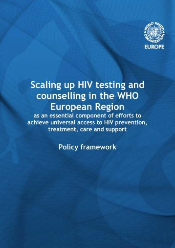 Scaling up HIV testing and - World Health Organization Regional ...