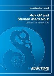 Investigation report - Ady Gil and Shonan Maru No. 2 - Maritime New ...