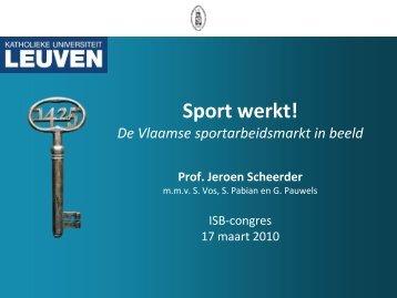 Sport & Tewerkstelling