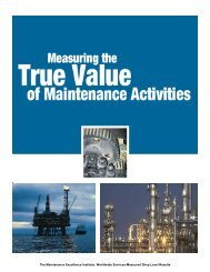The Maintenance Excellence Institute: Worldwide Services ... - AMMJ