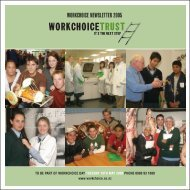 WORKCHOICE NEWSLETTER 2005 - Workchoice Trust