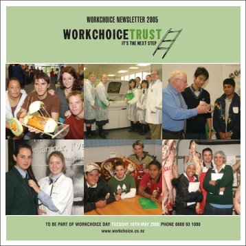 WORKCHOICE NEWSLETTER 2005 - Workchoice Trust
