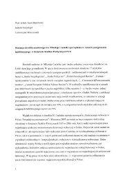 Prof. dr hab. Jacek Raciborski - Instytut Studiów Politycznych PAN