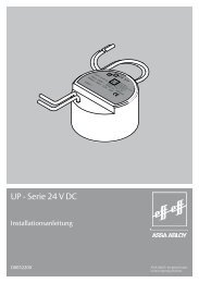 UP - Serie 24 V DC - Ikon