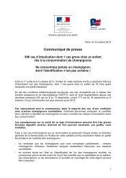 Lire le communiqué de presse - ARS Picardie