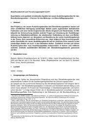 Quantitative und qualitativ strukturelle Aspekte bei neuen ... - BiBB