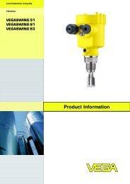 Product Information VEGASWING 51 / VEGASWING 61 ...