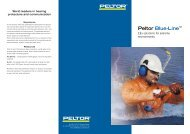 Peltor Blue-Line™ - Enviro Safety Products