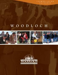 Natural Inspiration — Breaking Down the Walls - Woodloch Meetings
