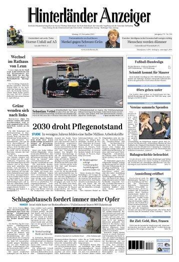 2030 droht Pflegenotstand - ePaper - Mittelhessen.de