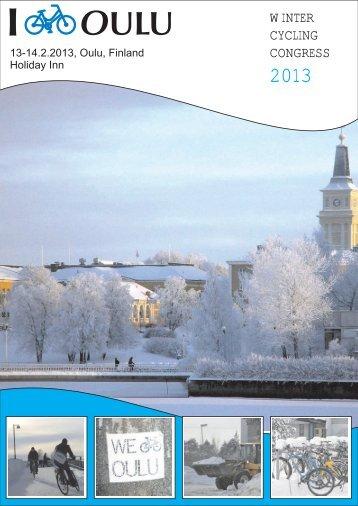 Download magazine - i Bike Oulu - Winter Cycling Congress