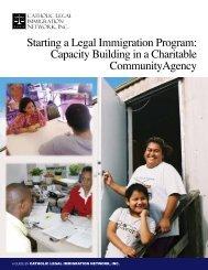 Starting a Legal Immigration Program - Catholic Legal Immigration ...