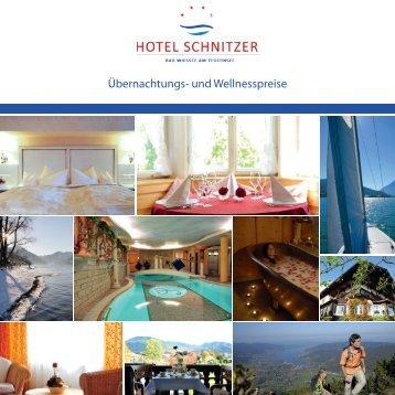 Preisliste 2012 - Hotel Schnitzer