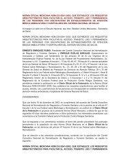 norma oficial mexicana nom-233-ssa1-2003, que establece los ...