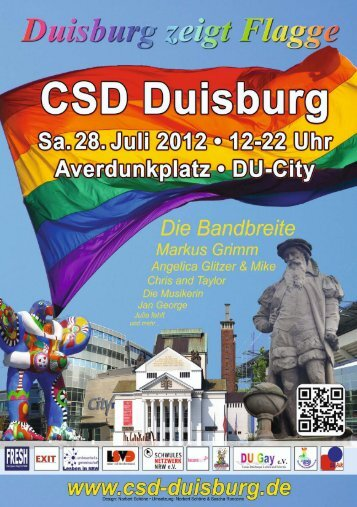 www.csd-duisburg.de P ro g ram m h eft - Duisburger Gay-Web ...