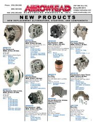 VARIOUS CHINA APPLICATIONS NEW STARTER 19588 199-088