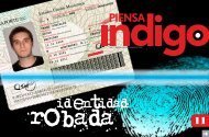 PASAPORTE - Reporte Indigo
