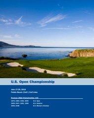 U.S. Open Championship - USGA