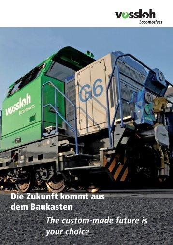 Die Zukunft kommt aus dem Baukasten - Vossloh Locomotives GmbH