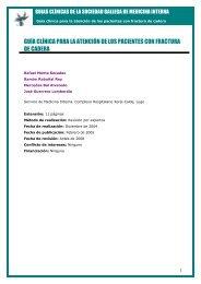 Guía clínica para la atención de los pacientes con fractura de cadera