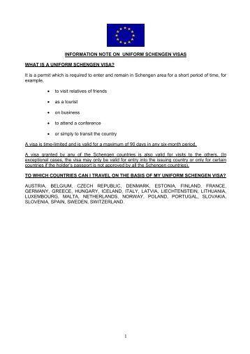 schengen visa code handbook