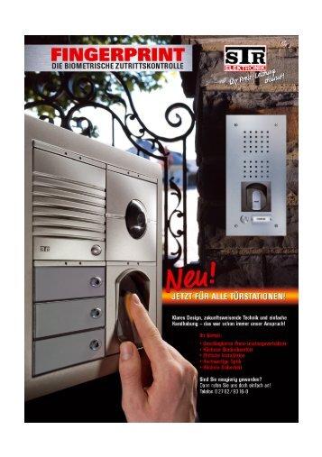 Fingerprintmodul - STR-Elektronik