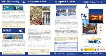 VEN POR MELILLA Escapada a Fez Escapada a Ifrane ... - 4x4Facil