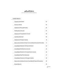 Quarterly Report - September 2012 - Meezan Bank