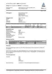 GUTACHTEN zur ABE Nr. 46699 nach §22 StVZO Anlage 3 zum ...