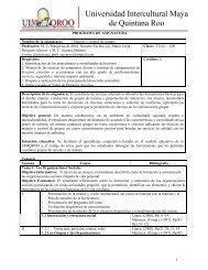 TUAL-106 Manejo y control de grupos - UIMQRoo