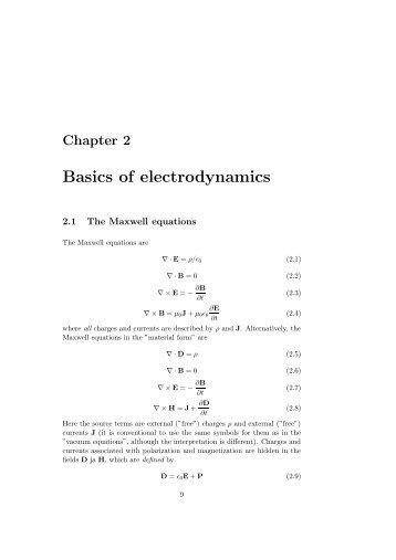 introduction to electrodynamics griffiths pdf