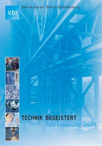 Der Bericht 2009 - (VDI) Berlin-Brandenburg