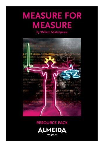 Measure for Measure Resource Pack.qxp - Almeida Theatre