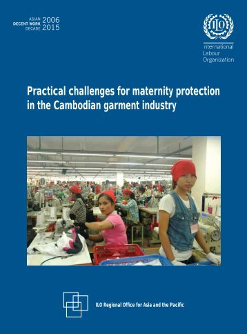 Practical challenges for maternity protection in the Cambodian ...