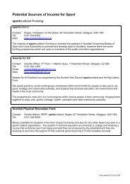 Sportscotland Directory of Funding (PDF, 40K)