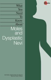 Moles and Dysplastic Nevi - HelpingYouCare