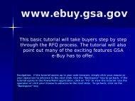 GSA E-Buy - DoDEA