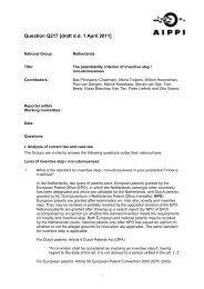 Question Q217 [draft d.d. 1 April 2011] - Aippi