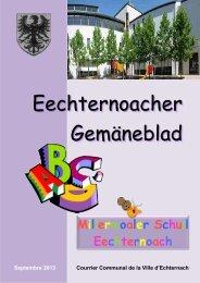 Millermoaler Schull - Echternach