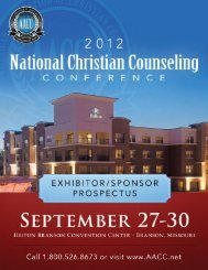 2012 National Conference Prospectus.indd - AACC World Conference