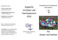 den Sie und Ihr hier findet (Stand Dezember 2012) - Evangelische ...