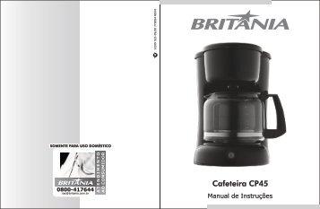522 05 00 Rev0 Folheto de Instruções Cafeteira CP45-2.cdr