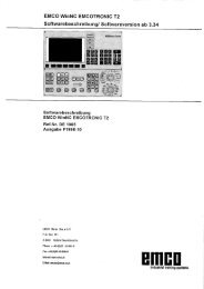 EMCO WinNC EMCOTRONIC T2 - Emco Maier GmbH