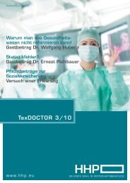TaxDOCTOR 3/10 - HHP - Hammerschmied Hohenegger und Partner