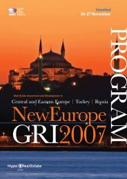 Central and Eastern Europe | Turkey | Russia - Global Real Estate ...