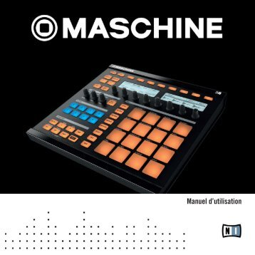 Maschine Manual French - Univers-sons.com