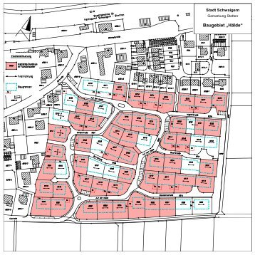 "Baugebiet ""Hälde"" - Stadt Schwaigern"
