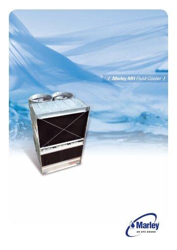 Marley Fluid Cooler : Marley mh fluid cooler dyna tech sales corporation