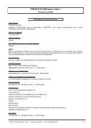 FORTIS B FIX 2008 Islamic Index 1 - BNP Paribas Investment Partners