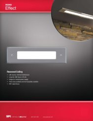 Echo Effect Recessed Ceiling - SPI